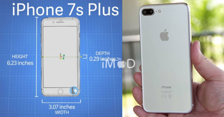 Iphone7s Dimensions Image Leaks