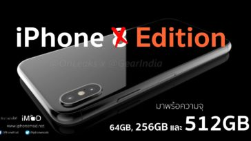 Iphone Edtion Capacity Rumors