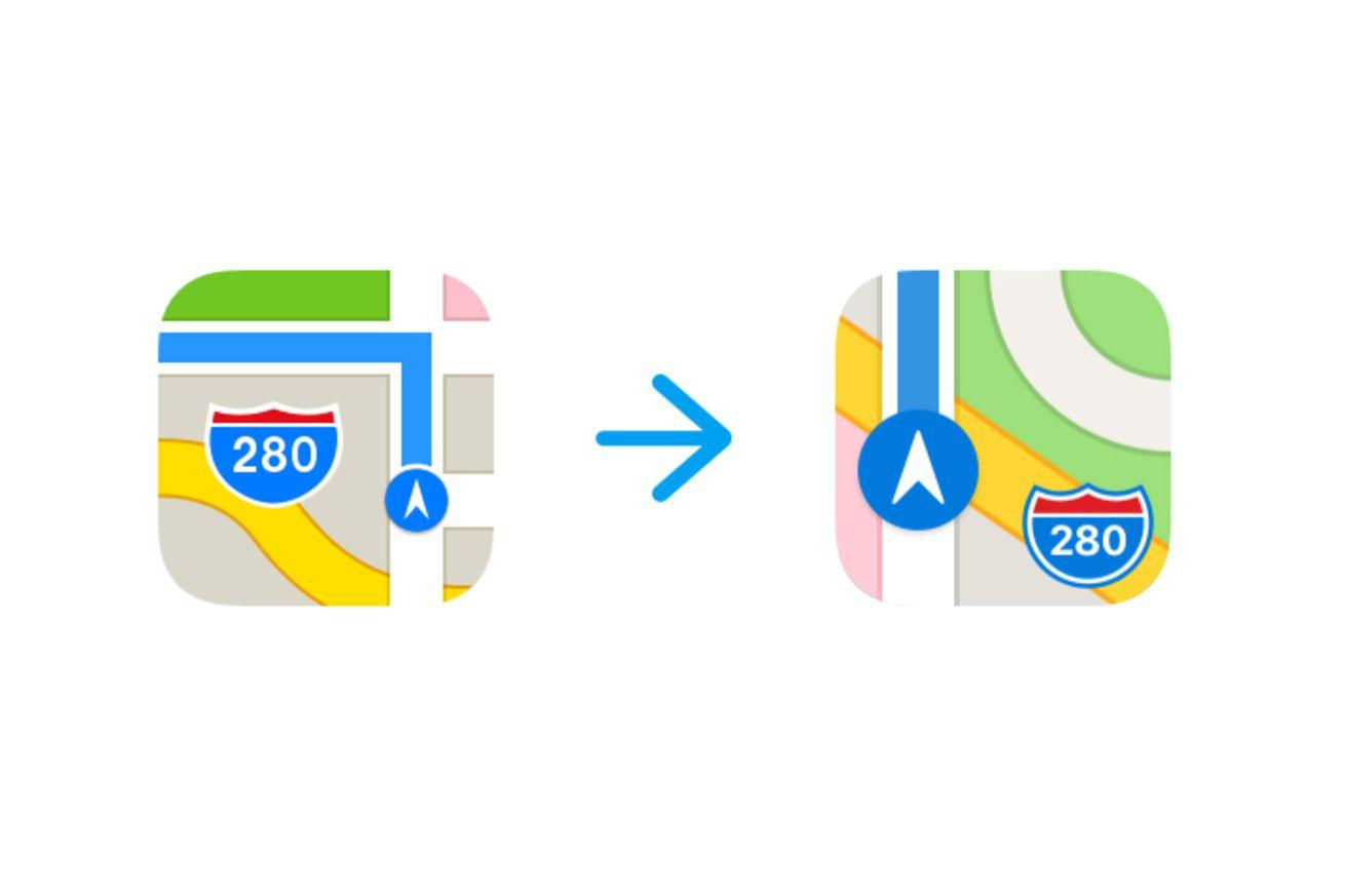 Maps Icon Ios 11 Beta 6 Apple Park