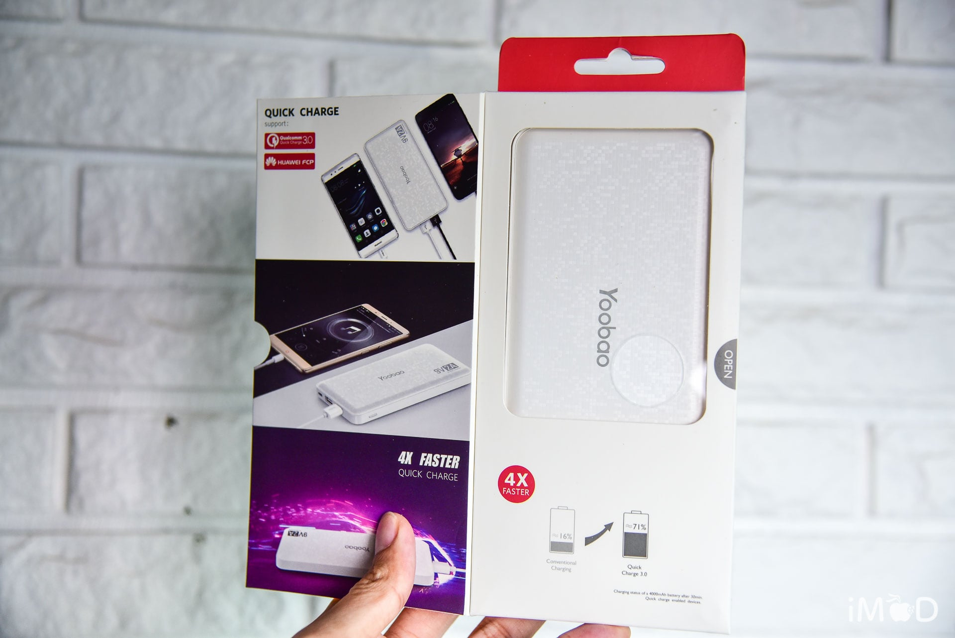 Yoobao Q16 Powerbank Review 6
