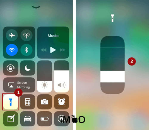 6.reduce Flash Light Save Battery Ios 11