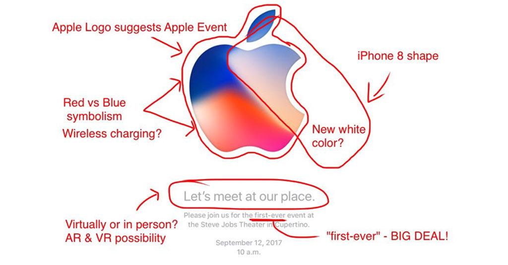 Apple Event 2017 Invitation Card Analysis