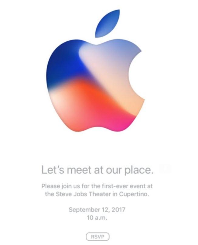 Apple Event 2017 Invitation Card