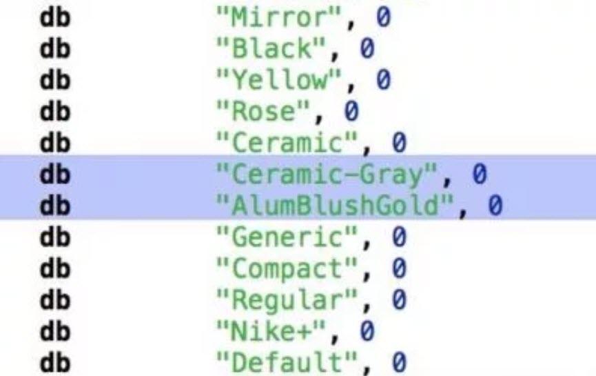 Apple Watch Series3 Color Leaks Ios 11 Gm 1