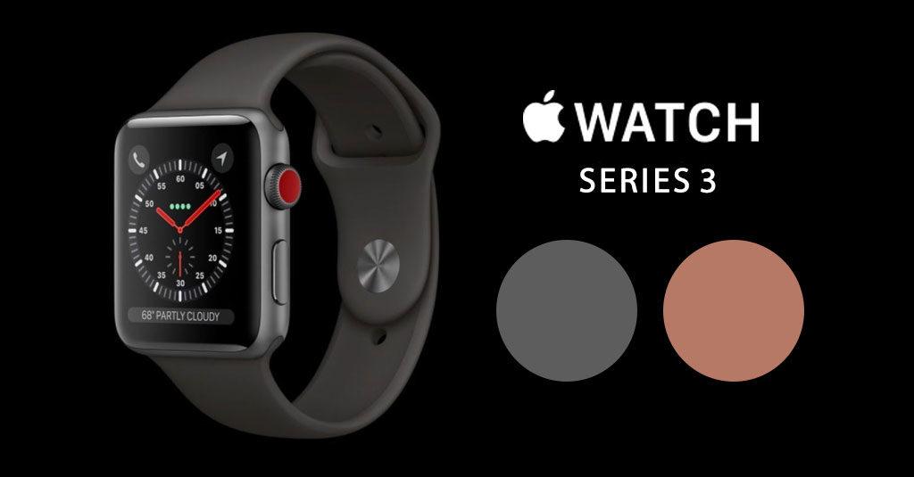 Apple Watch Series3 Color Leaks Ios 11 Gm 2