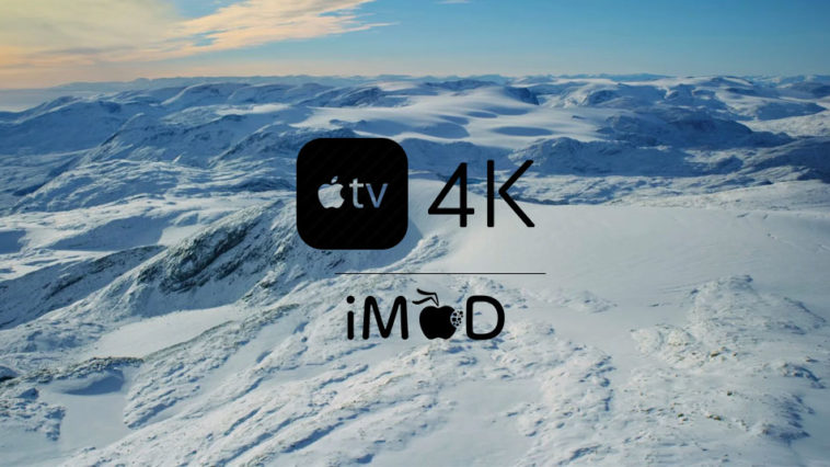Appletv4k Screenserver Cover