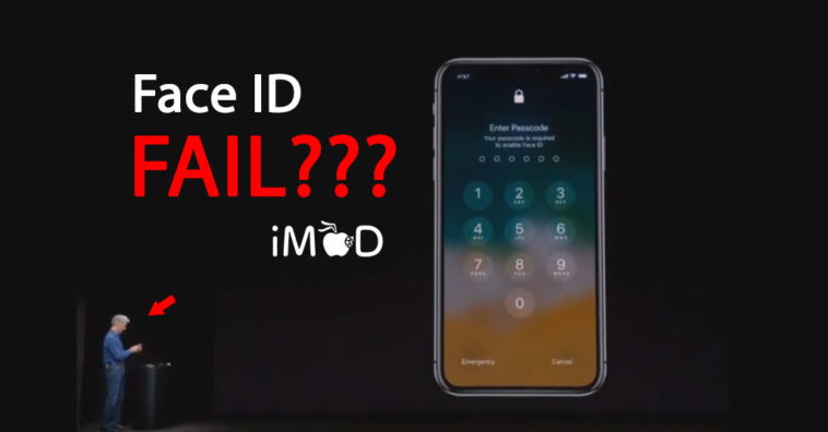 Faceid Demo Fail