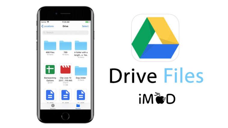 Google Drive Files Ios11