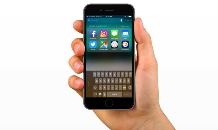 How To Enable Ios 11 One Handed Keyboard
