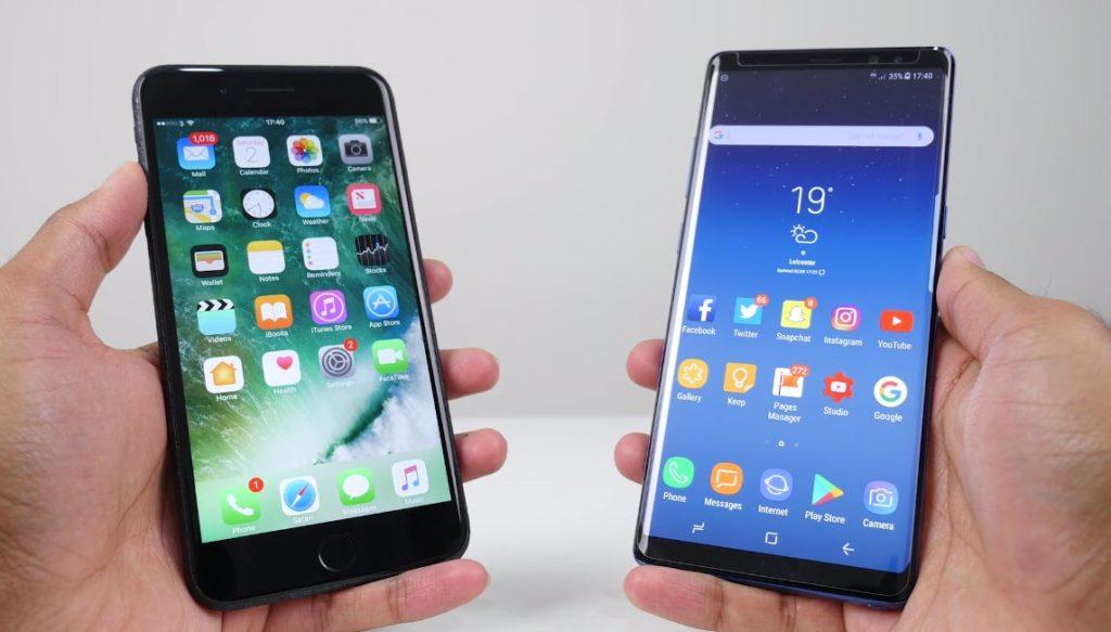 Note 8 Vs Iphone 7 Plus Camera Comaparison 1