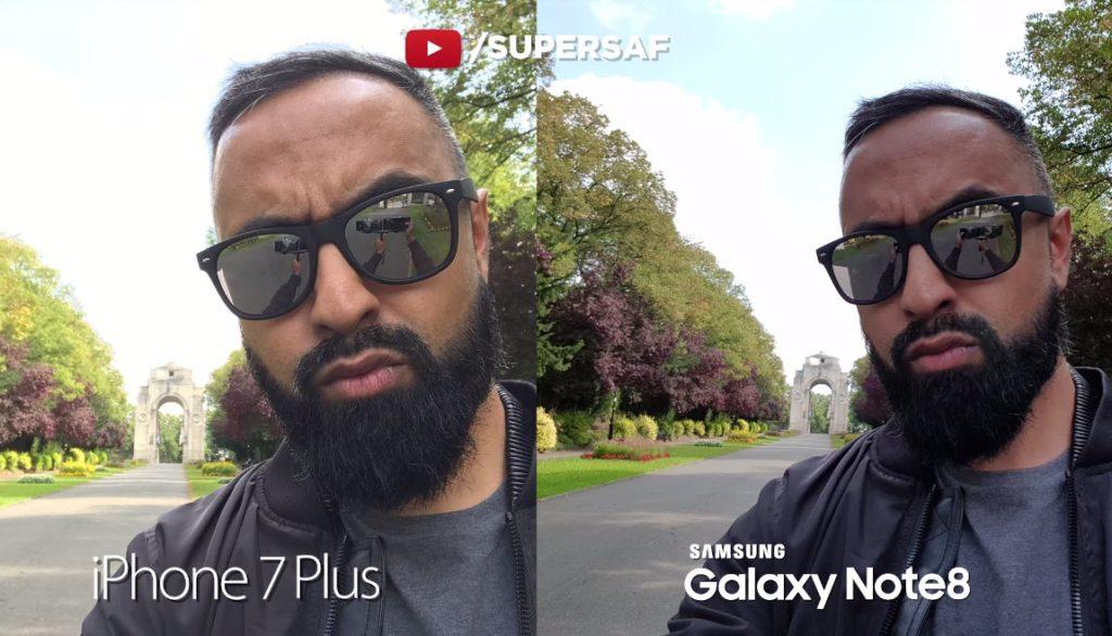 Note 8 Vs Iphone 7 Plus Camera Comaparison 10