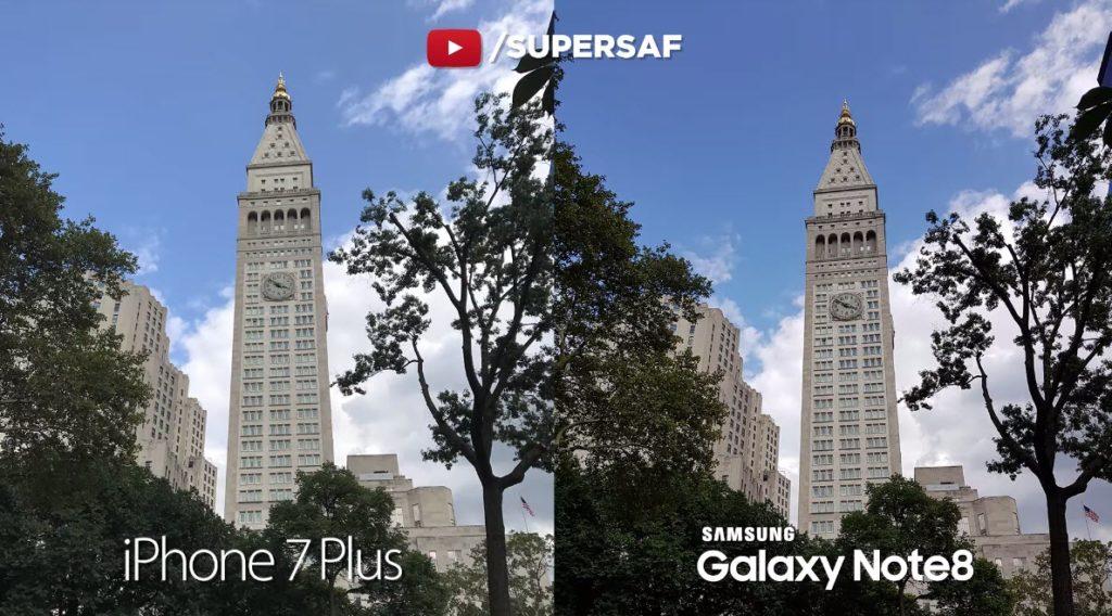 Note 8 Vs Iphone 7 Plus Camera Comaparison 17