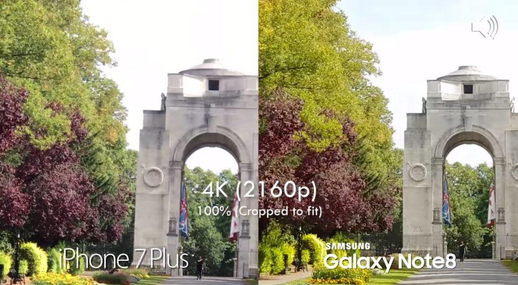 Note 8 Vs Iphone 7 Plus Camera Comaparison 6