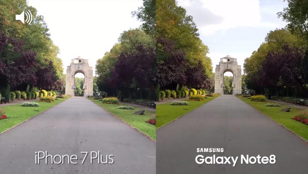 Note 8 Vs Iphone 7 Plus Camera Comaparison 7