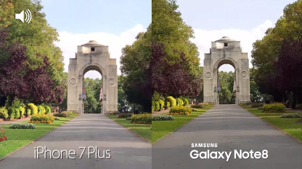 Note 8 Vs Iphone 7 Plus Camera Comaparison 8