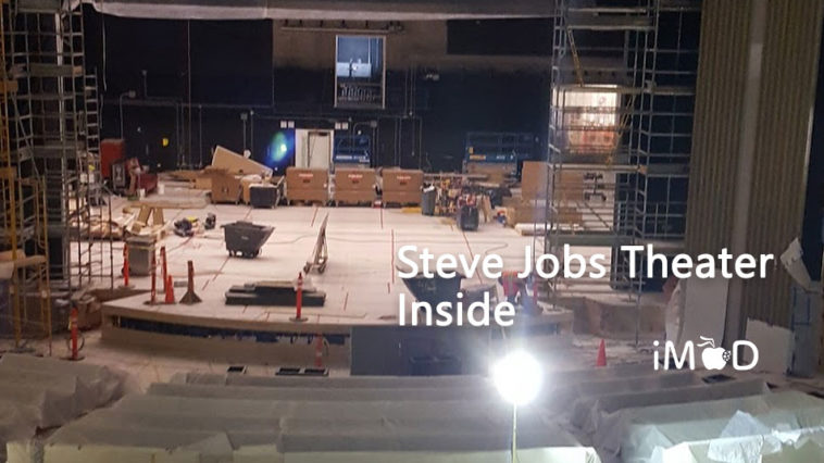 Stevejobs Theater Construction