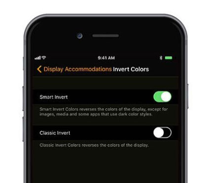 Accessibility Smart Invert 1