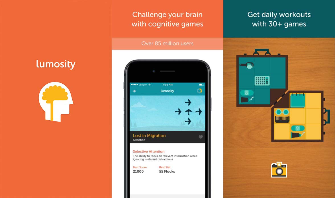 App Lumosity Content1