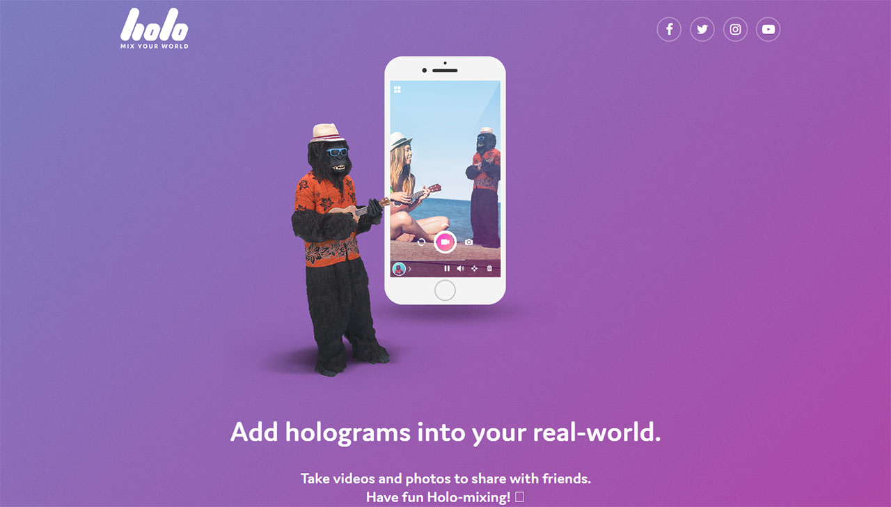 Ar Apps Holo Cover