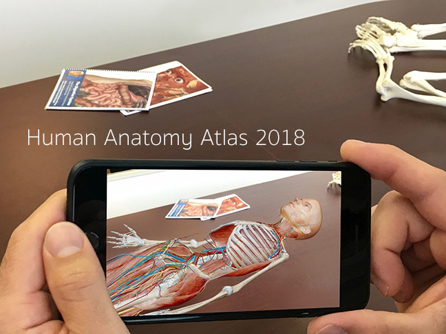 Augmented Reality Body Table Phone