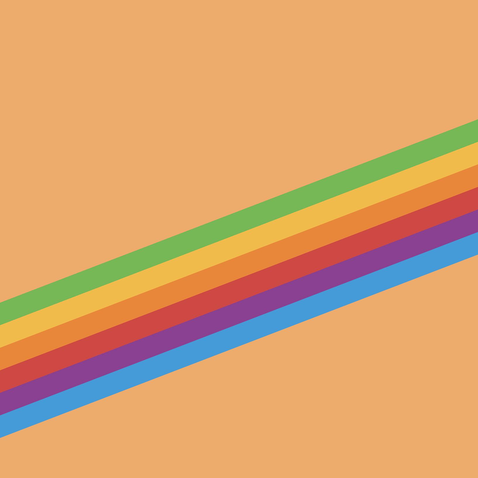Ios 11 Gm Wallpaper Heritage Stripe Orange