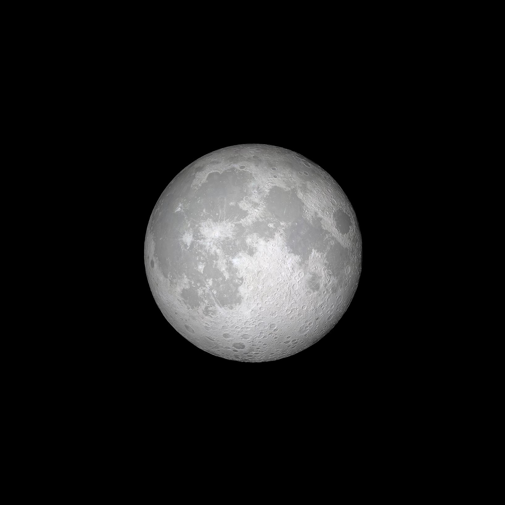Ios 11 Gm Wallpaper Moon