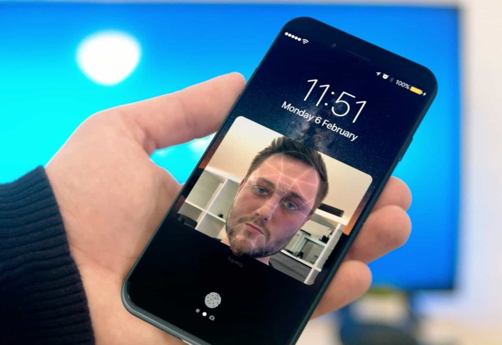 Iphone 8 Facetracking