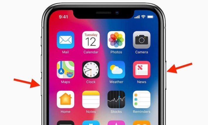 Iphone X Restart