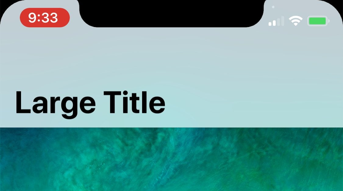 Iphone X Status Bar 1