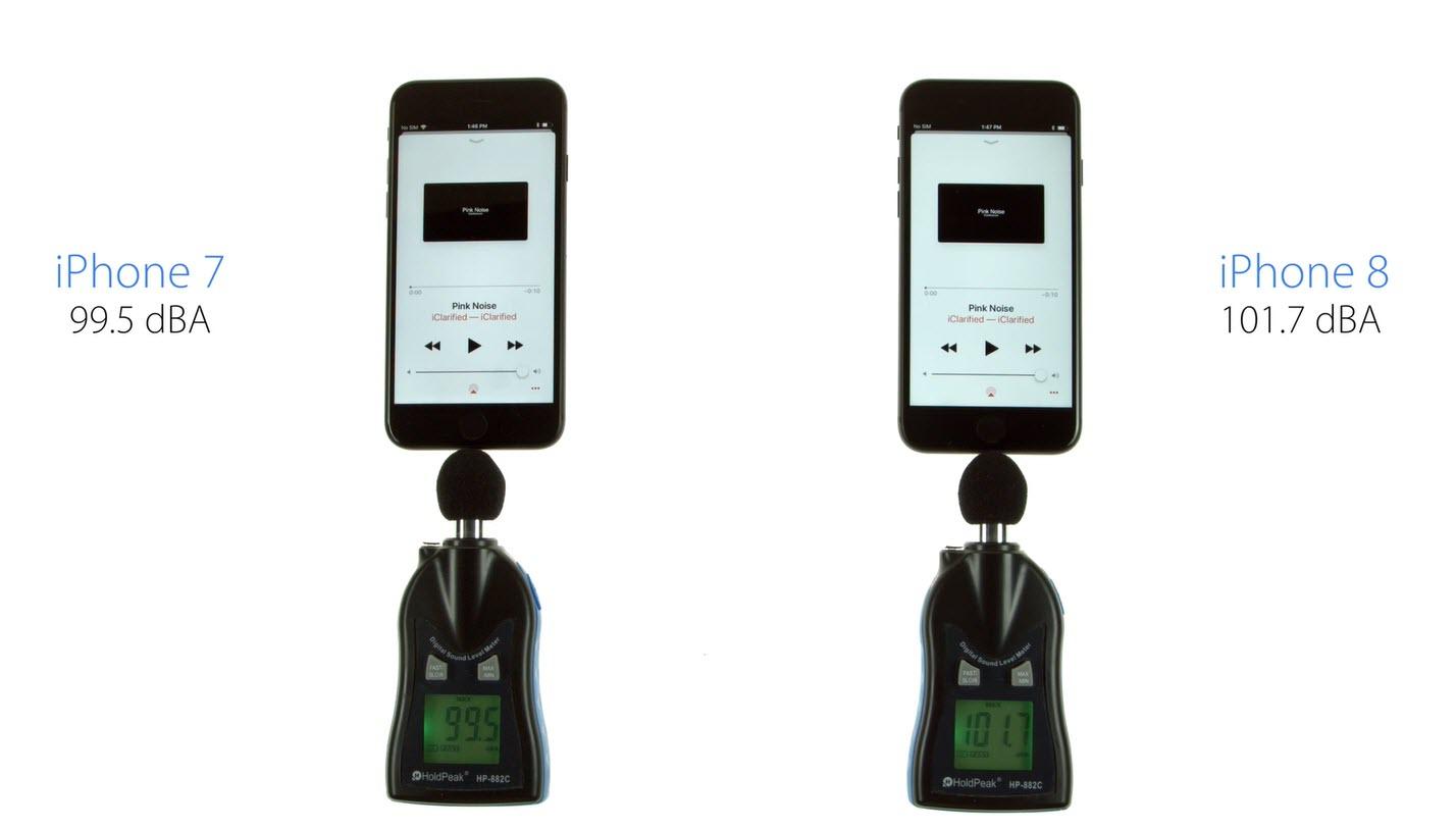 Iphone8 Iphone7 Speaker Volume Test 1