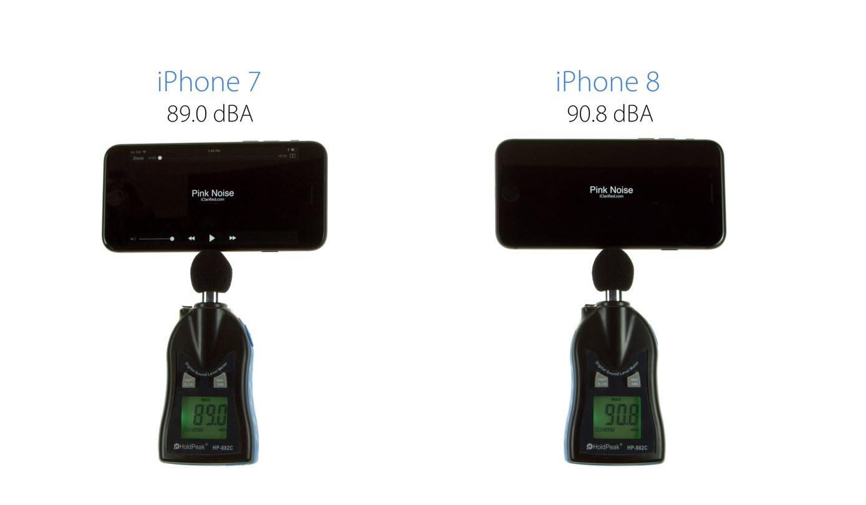 Iphone8 Iphone7 Speaker Volume Test 2
