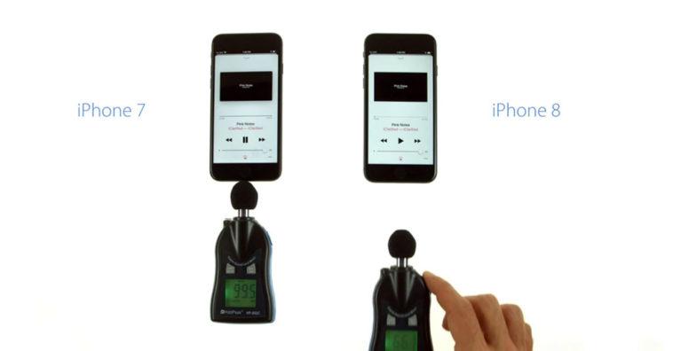 Iphone8 Iphone7 Speaker Volume Test Cover