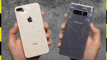 Iphone8plus Galaxynote8 Droptest