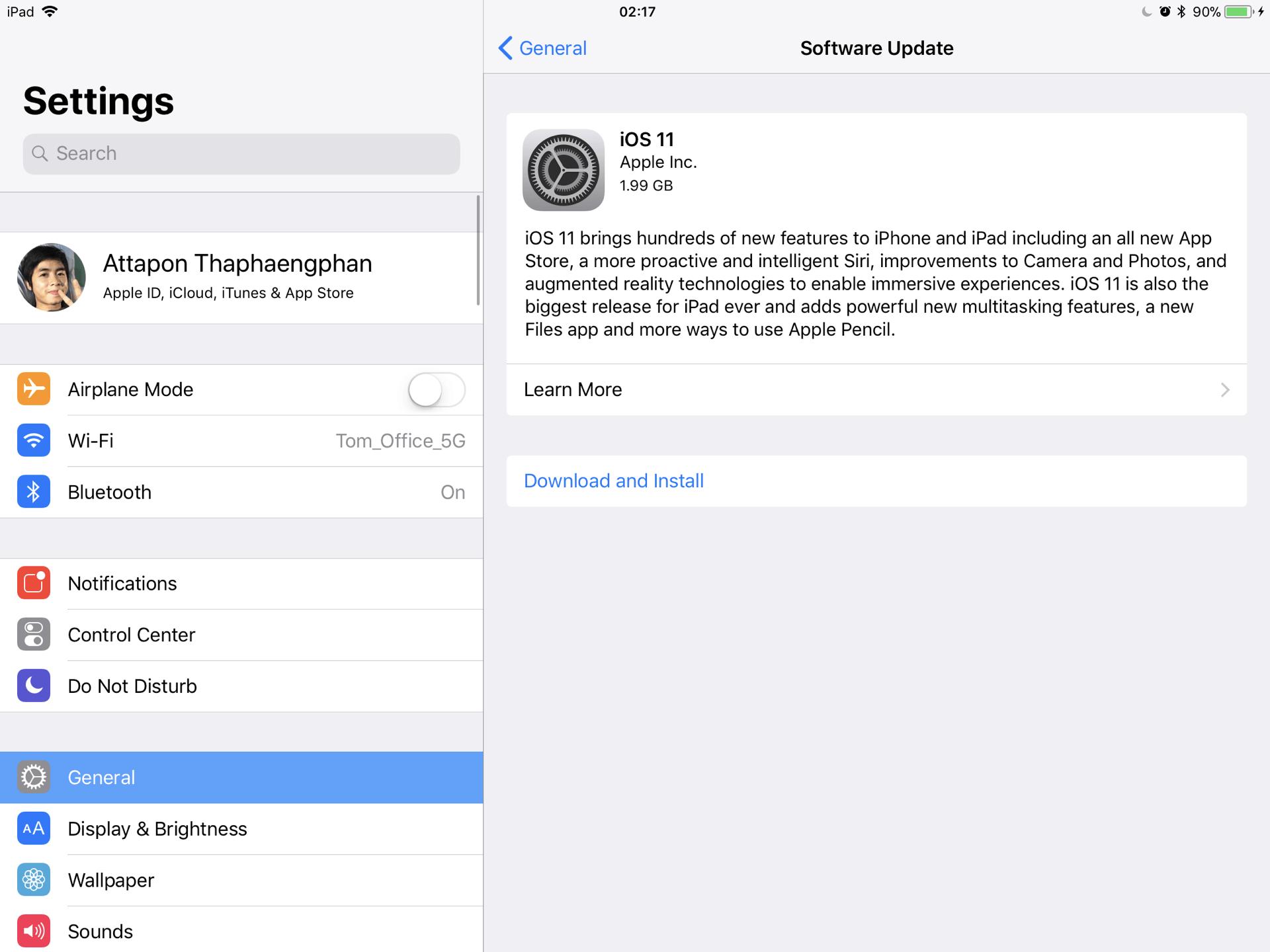 Ios 11 G Released