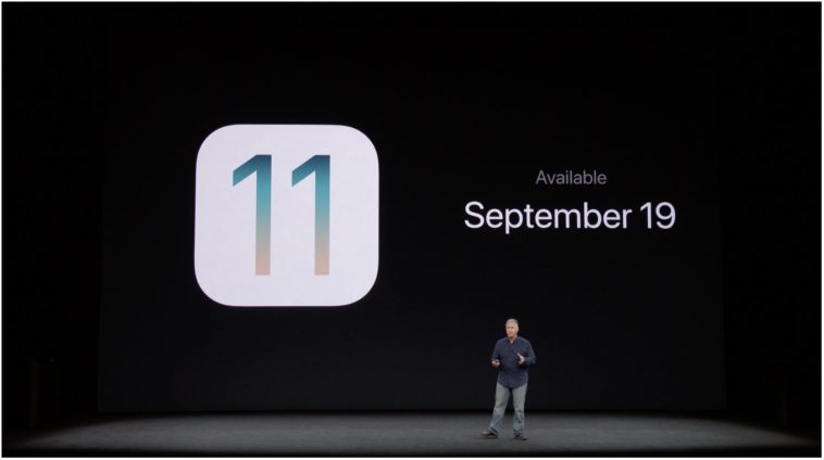 Ios 11 Septemmber 19