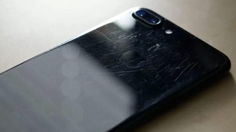 Iphone 7 Plus Abrasions Jet Black 1 Year