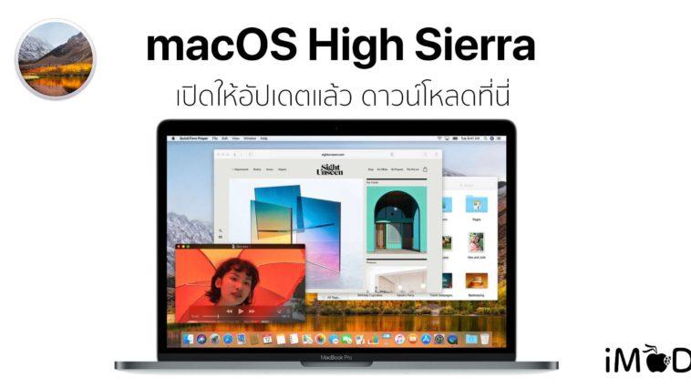 Macos High Sierra Released Hero