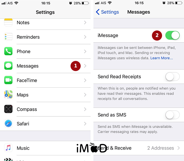 Set Imessage After Update Ios 11