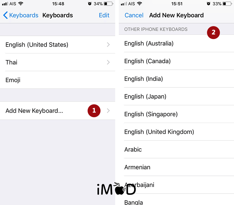 Set Keyboard 3 After Update Ios 11
