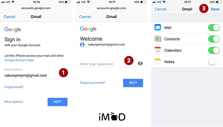 How To Setting Add And Remove Mail In Ios 11 2