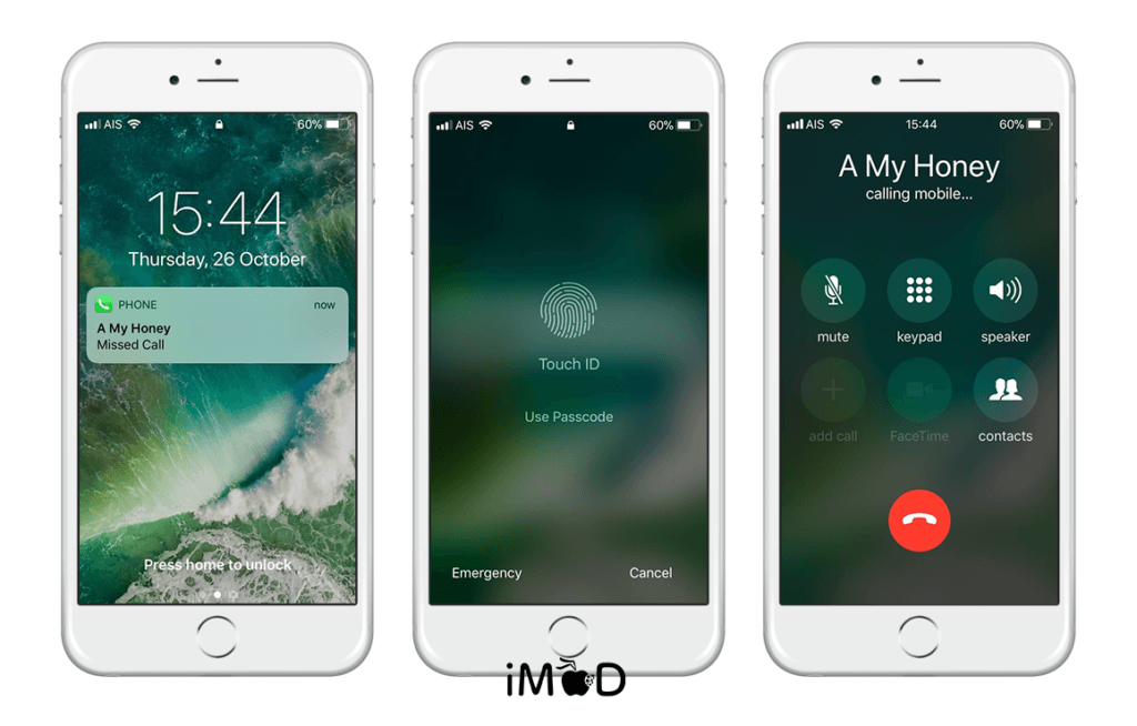 How To Protect Miss Call On The Lock Screen Iphone Ios 11 3