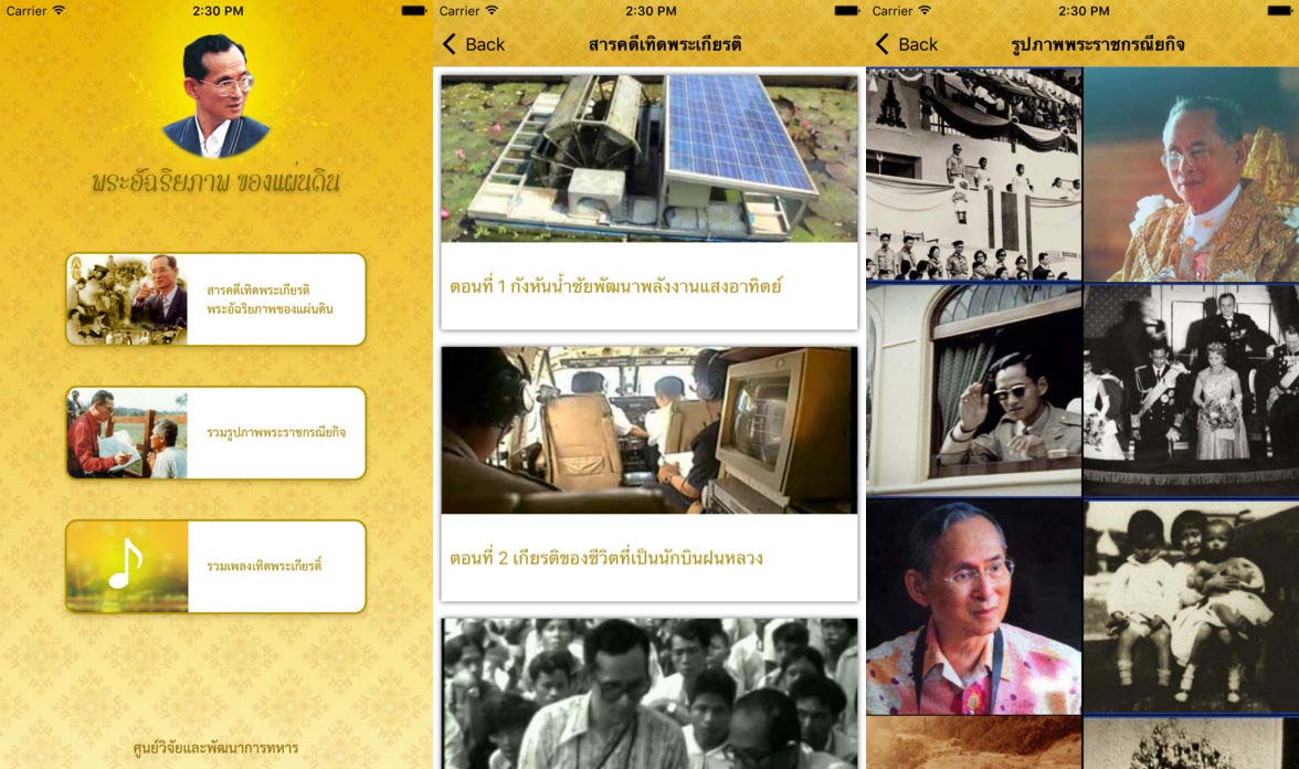 App พระอัจฉริยภาพของแผ่นดิน Cover