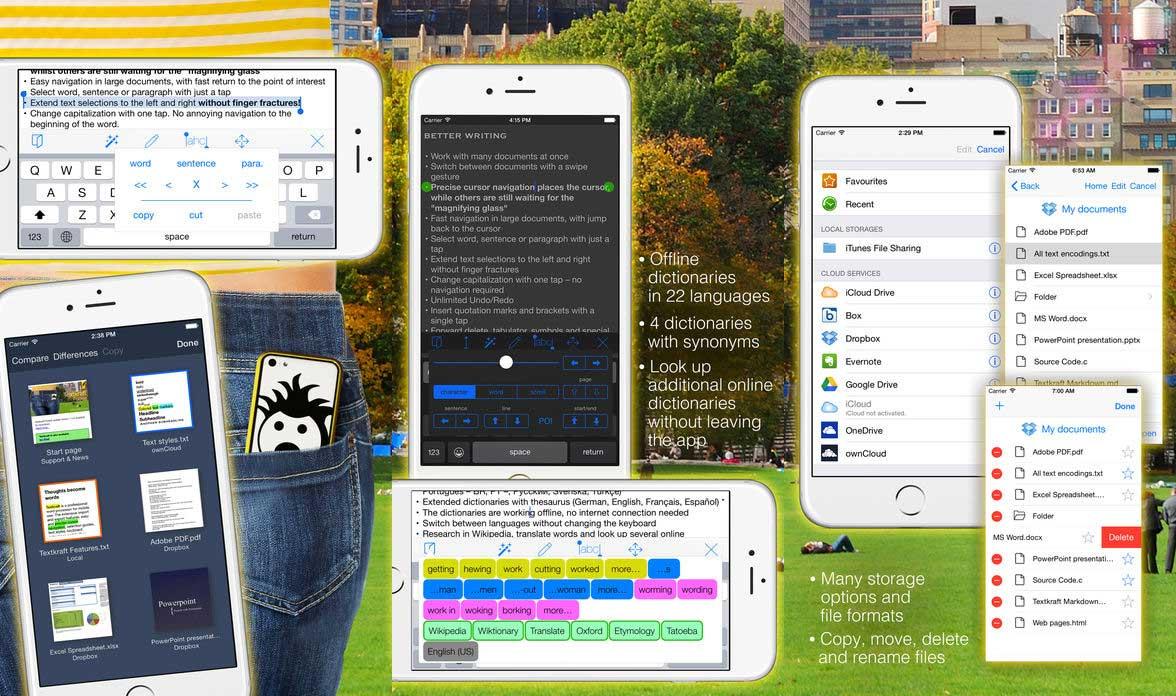 App Textkraftpocket Cover