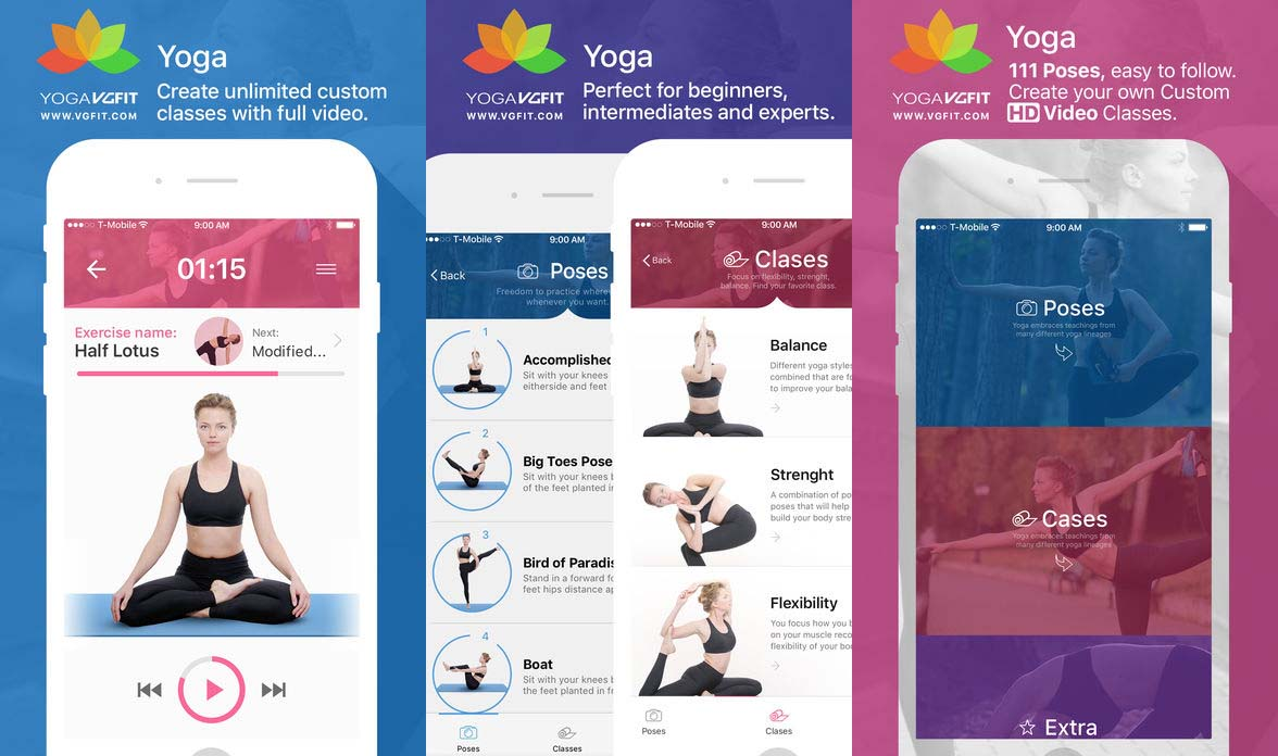 App Yogaposes&classes Cover