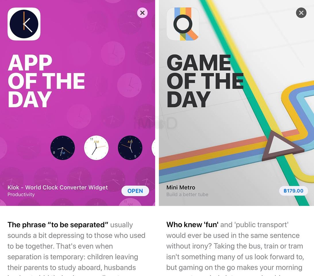 App Of The Day Game Of The Day 1