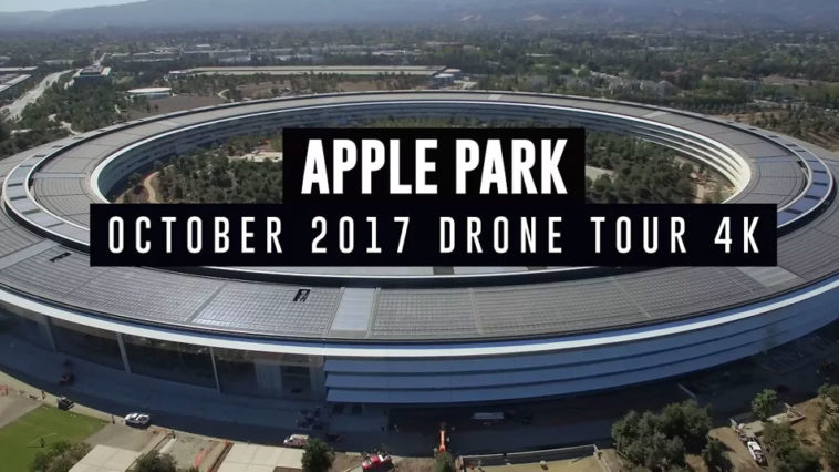 Apple Park Construction Progress Oct 2017