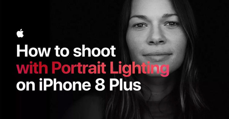 Apple Posts Two New Portrait Lighting Tutorial