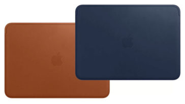 Apple Released Macbook 12 Inch Leather Sleeve
