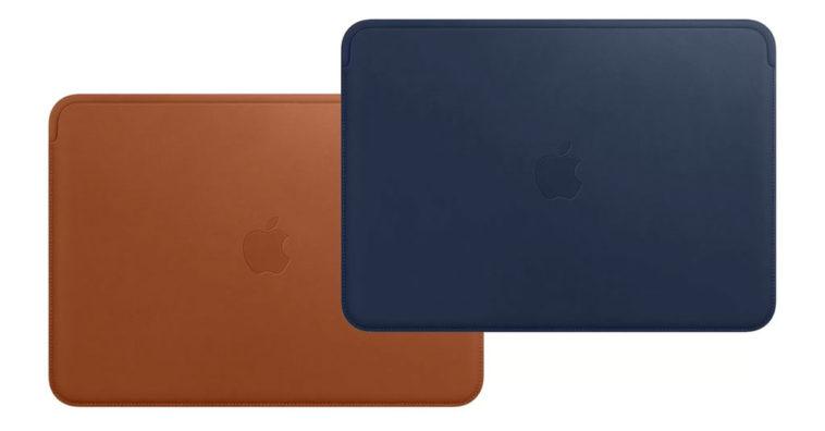 Apple Released Macbook 12 Inch Leather Sleeve