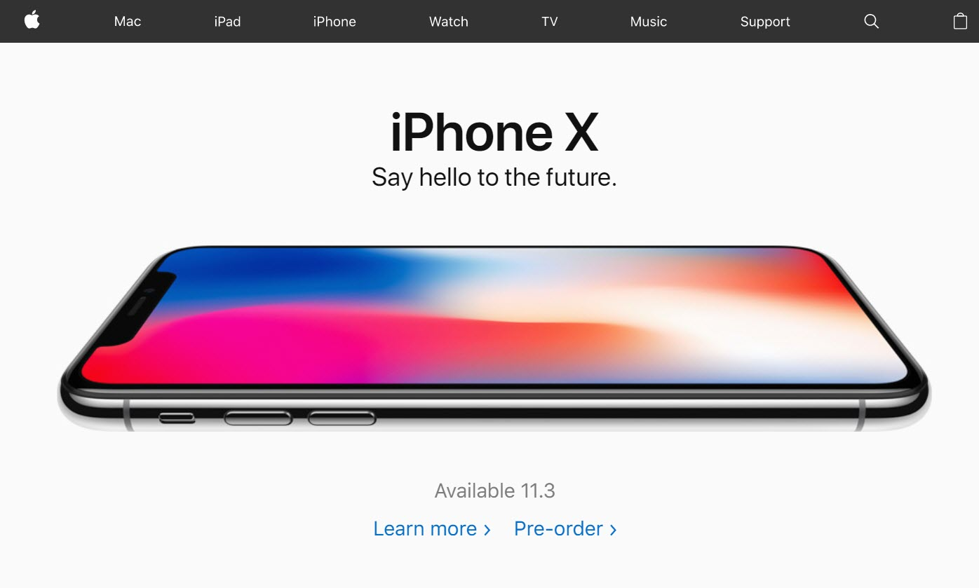 Apple Start Pre Order Iphone X 27 Oct 2017 1